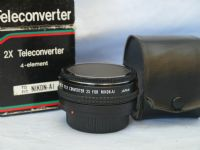 ' BOXED ' Nikon AI Fit 2x Lens Conveter Cased  £5.99